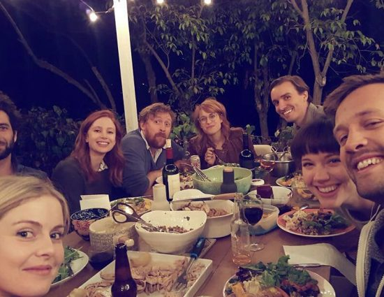 Rose McIver celebrating Thanksgiving