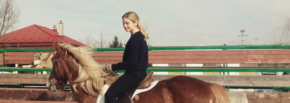 Rose McIver traveling in Romania